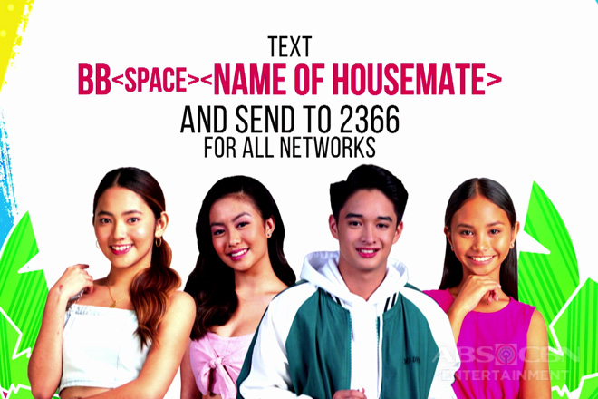 PBB Otso Teens Day 50: Vote for your Batch 3 Teen Big 4 Now!