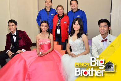 PBB Lucky Big 4 Presscon