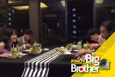 Kuya, naghanda ng dinner para sa kanyang Big 4