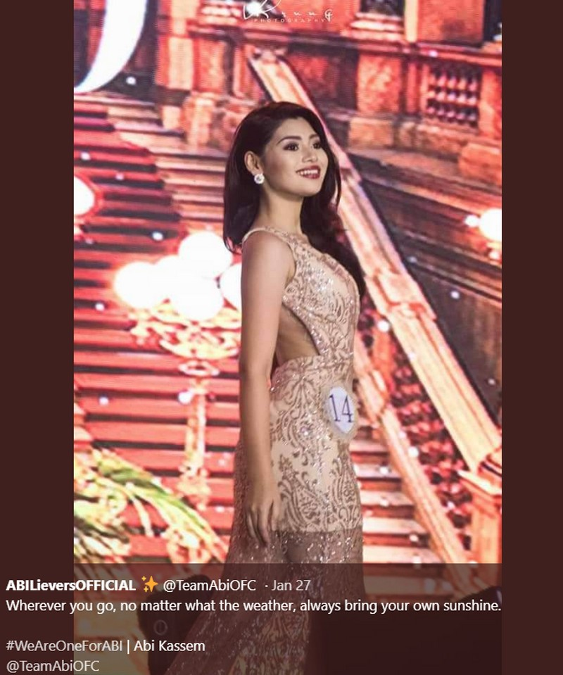 From beauty queen to PBB housemate: Take a look at Abi Kassem's photos that showed her mesmerizing beauty!