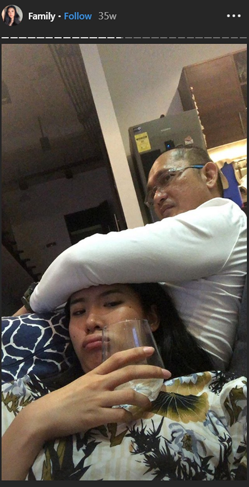 PHOTOS: Check out Lou Yanong's precious moments with her daddy