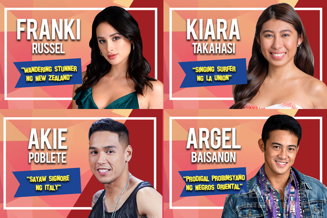 Pinoy Big Brother Otso Batch 4 Adult Housemates