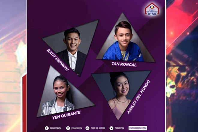 Batit, Tan, Ashley and Yen complete batch three big four