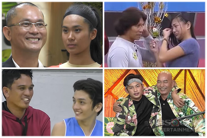 8 touching encounters of PBB Otso ex-housemates with their dads inside the house