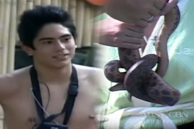 PBB Balikbahay: Kuya Kim helps Gerald overcome fear of snakes Image Thumbnail