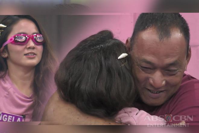 PBB Otso Teens Day 50: Angela, naluha nang muling mayakap ang kanyang Ama