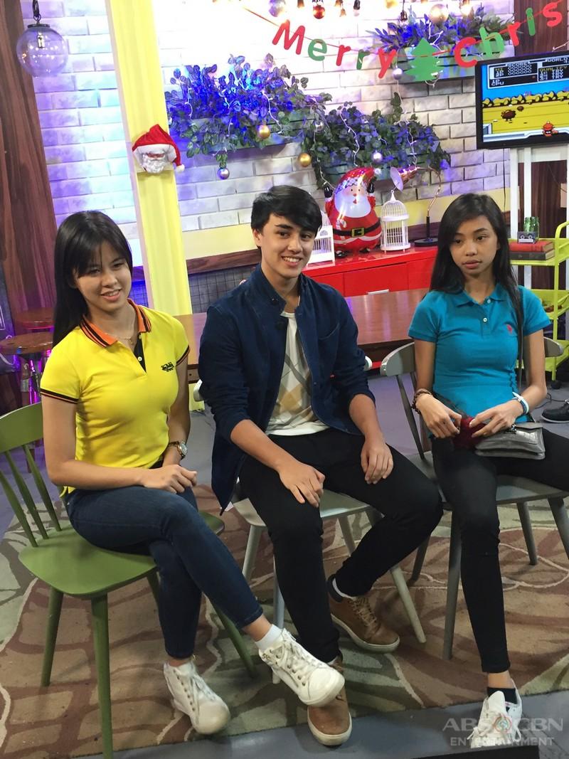Kapamilya Chat with Maymay, Edward and Kisses