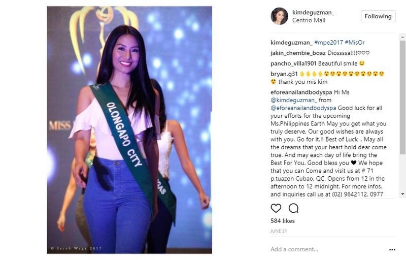 LOOK: Former PBB housemate Kim De Guzman is now Miss Philippines Earth–Air 2017!