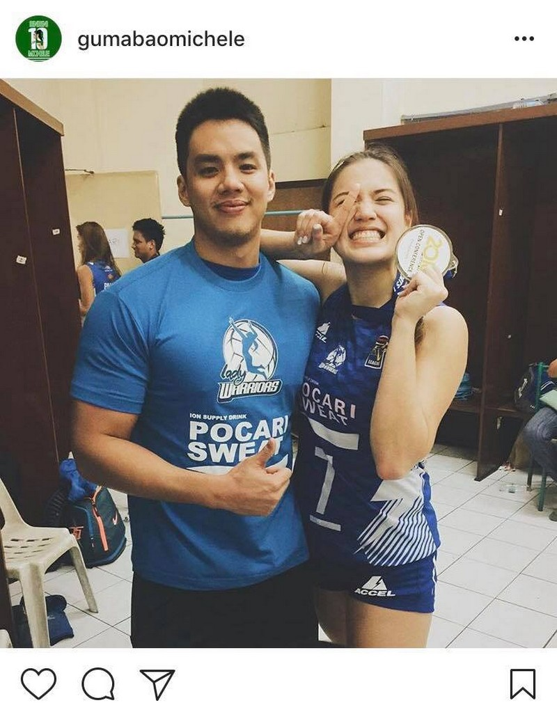 LOOK: Michelle Gumabao with her ever supportive boyfriend!