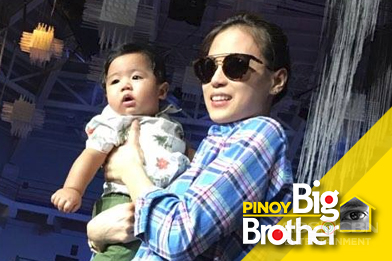 LOOK: Toni G's Baby Seve visits Big Night Rehearsal